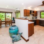 Kailua Shores Tennis House kitchen area