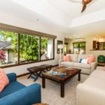 Kailua Shores Tennis House Living Room