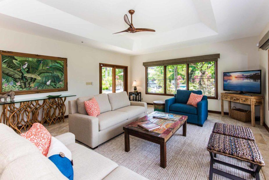 Tennis House living room