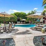 Kailua shores tennis house walkway