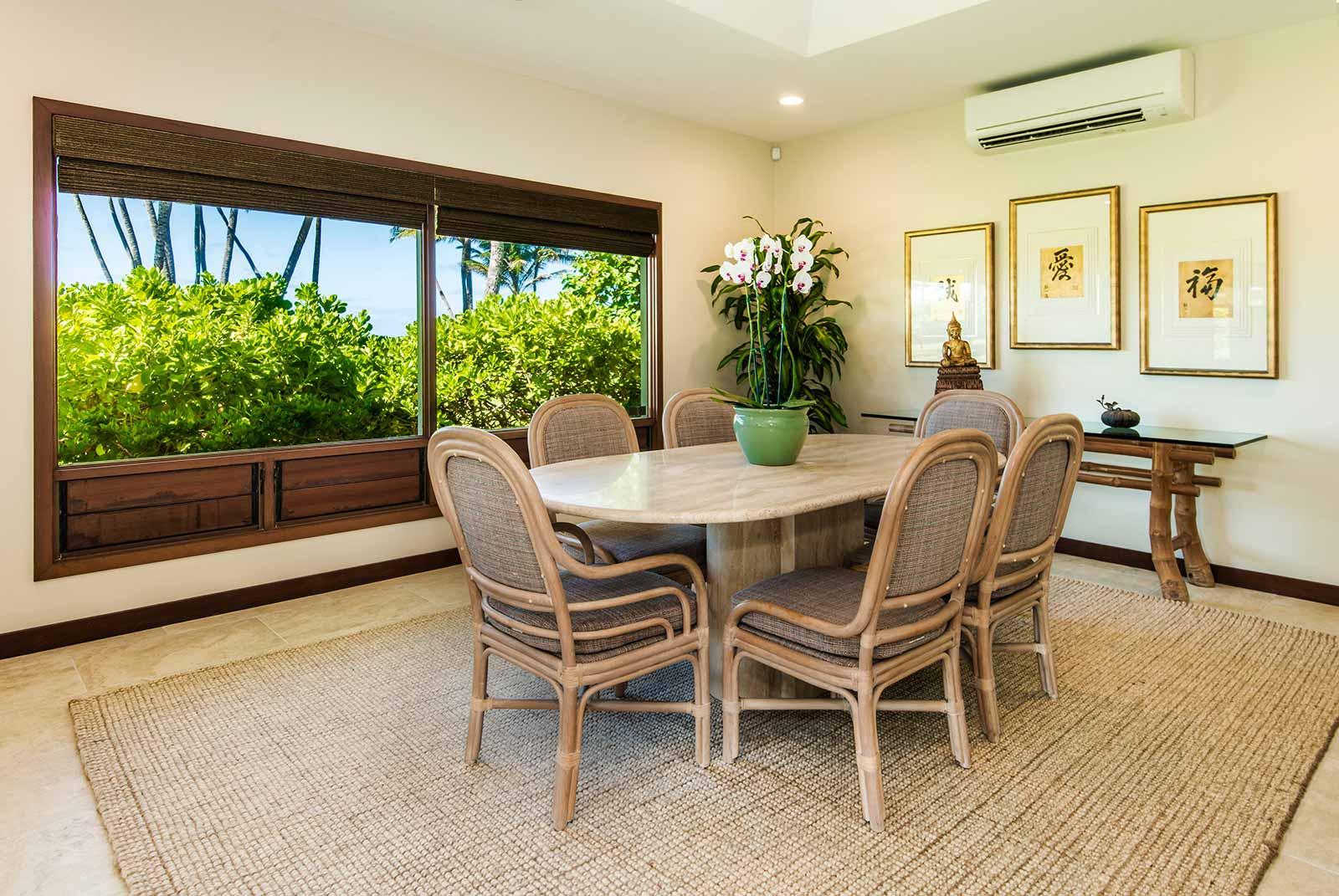 Kailua Shores Beach House Dining Table