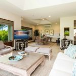 kailua shores beach house living area