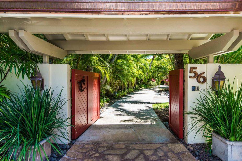 kailua shores front gate