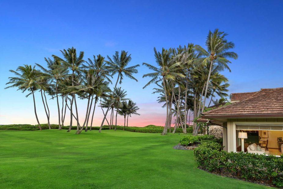 Kailua Shores Front yard