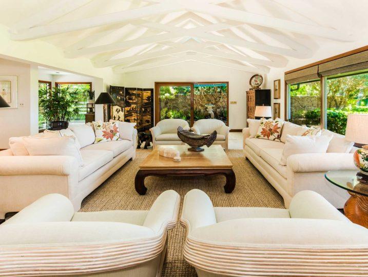 Kailua Shores Main House Living Room