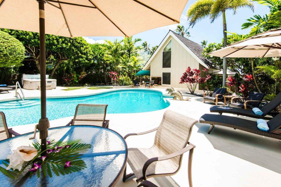 Kailua Shores Estate Pool