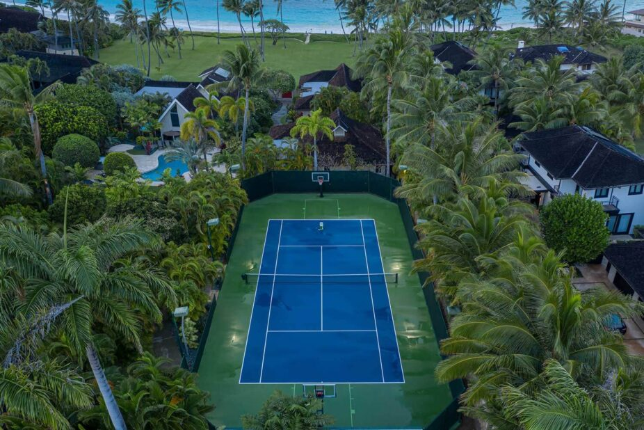 Kailua shores USTA approved tennis court